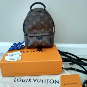 NWT Louis Vuitton Palm Springs Mini